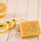 "Sapun exfoliant ""Lemon Poppy"" 100 gr"