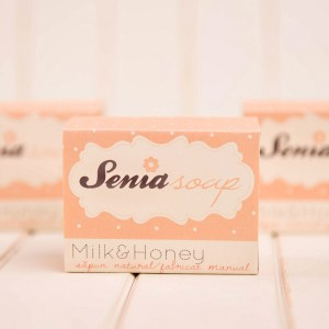 "Sapun natural ""Milk & Honey"" 100 gr"