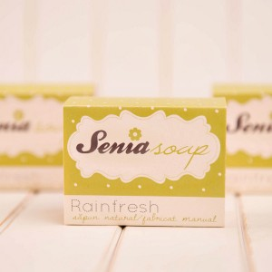 "Sapun natural ""Rainfresh"" 100 gr"