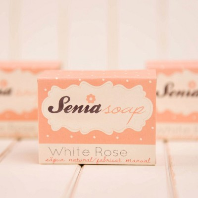 "Sapun natural ""White Rose"" 100 gr"